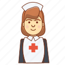 care, healthy, hospital, medical care, medicine, nurse, nutrition icon