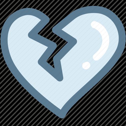 beat, broken heart, heart, heartbreak icon