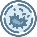 bacteria, germs, medical, microbe, microscope, virus icon