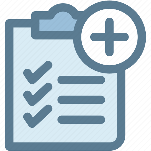 document, medical document, medical history, medical record, prescription icon