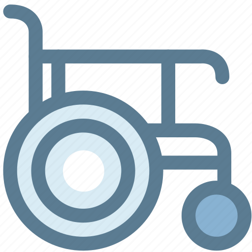 disabled, handicap, hospital, medical, patient, wheelchair icon