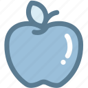 apple, apple with leaf, fresh apple, fruit, health care icon