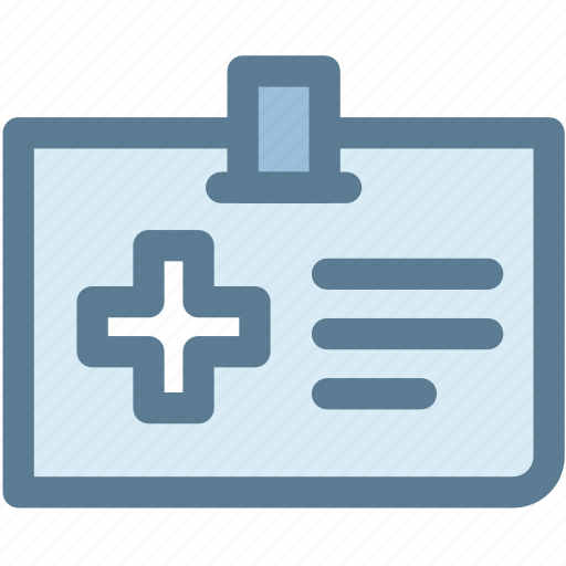 card, doctor, information, insurance, medical, medical card icon