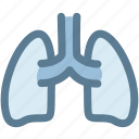internal organ, lung, lungs, medical, organ, organs icon