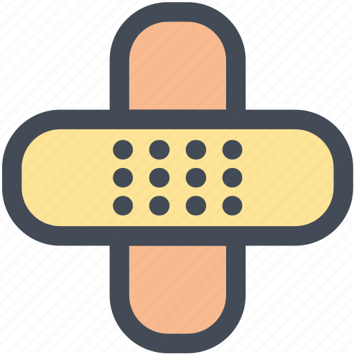 bandages, drugs, medical, medical care, medicine, patch icon