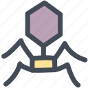anti virus, bug, deadly, disease, science, virus icon
