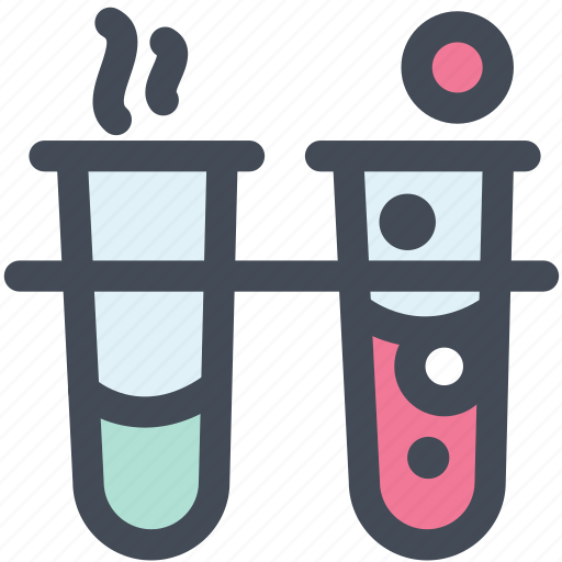 chemical, glassware, lab, lab flasks, science, test tube icon