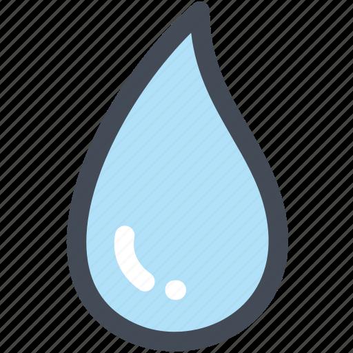 drop, droplet, rain drops, science, water, water drop icon