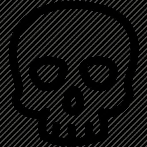ghost, halloween, skull icon