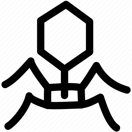 anti virus, bug, deadly, disease, science, virus icon