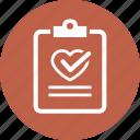 medical test, medical file, diagnosis