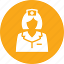 first aid, medical help, nurse icon