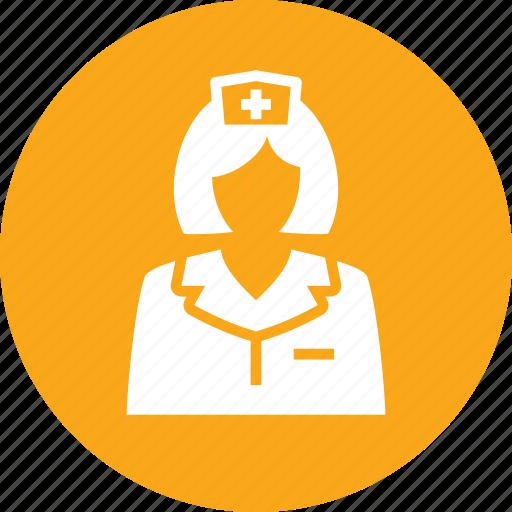 first aid, medical help, nurse icon