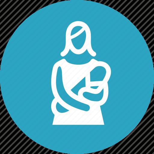 infant, mother, pediatrics, postnatal care icon