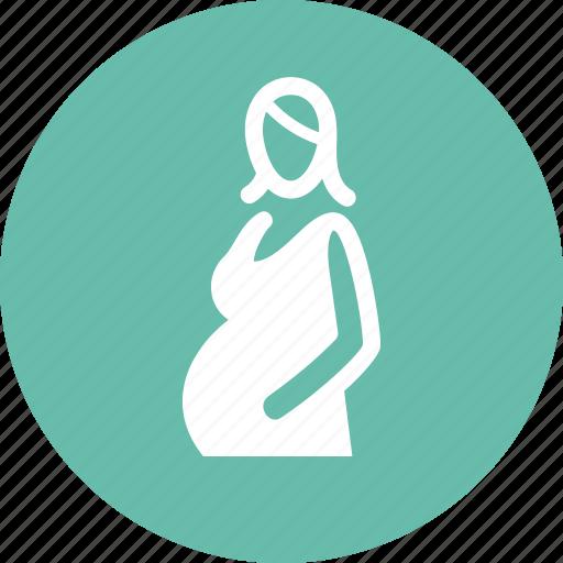 maternity, mother, pregnancy, prenatal care icon