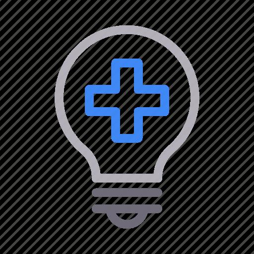 bulb, clinic, emergency, hospital, light icon