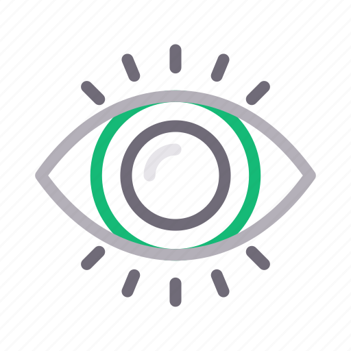 eye, medical, optical, view, vision icon
