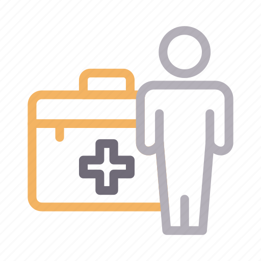 aid, doctor, kit, medicalbox, services icon