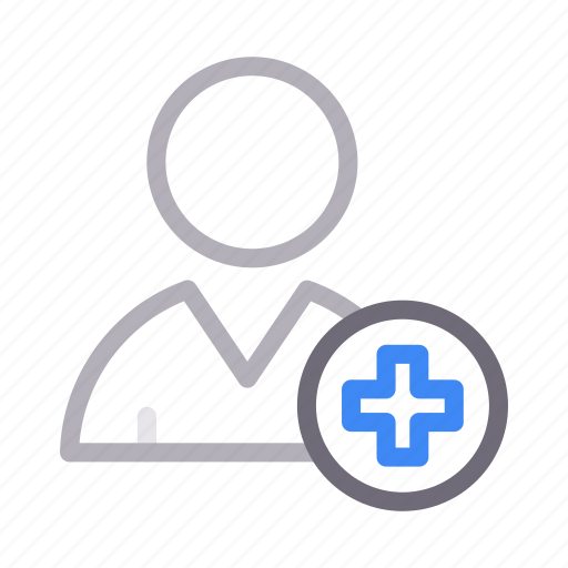 avatar, healthcare, man, medical, patient icon