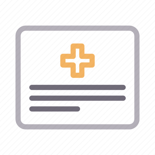 healthcare, medical, paper, report, sheet icon