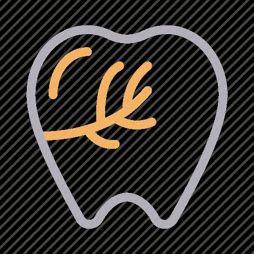 damage, dental, oral, pain, teeth icon