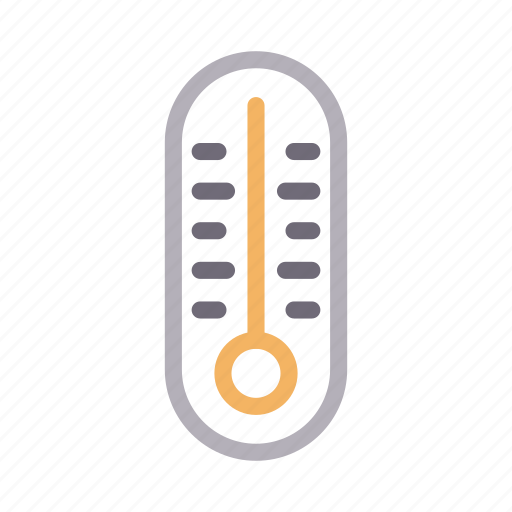 fever, measure, medical, temperature, thermometer icon