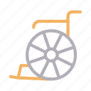 disable, handicap, healthcare, medical, wheelchair icon
