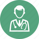 doctor, physician, stethoscope
