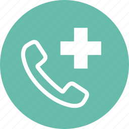 call doctor, medical help, medical question icon