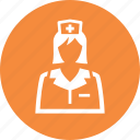 healthcare, medical help, nurse icon
