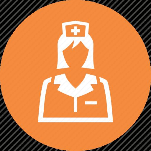 healthcare, medical help, nurse icon