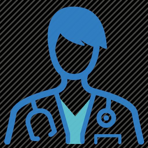 doctor, extern, fellow, intern, medical, optometrist, physician icon