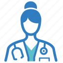 assistant professor, physician, medical help, professor, doctor, medical, nurse icon