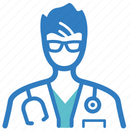 doctor, extern, fellow, intern, medical, medical help, physician icon