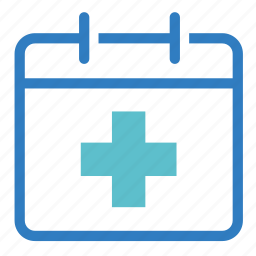 appointment, calendar, date, doctor appointment, medical appointment, schedule, surgery date icon
