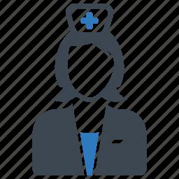 healthcare, nurse icon