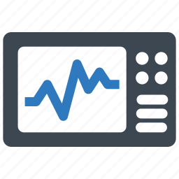 cardiogram, ecg, electrocardiogram icon