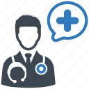 doctor, first aid, medical help icon