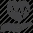 beat, care, ecg, ekg, heart icon