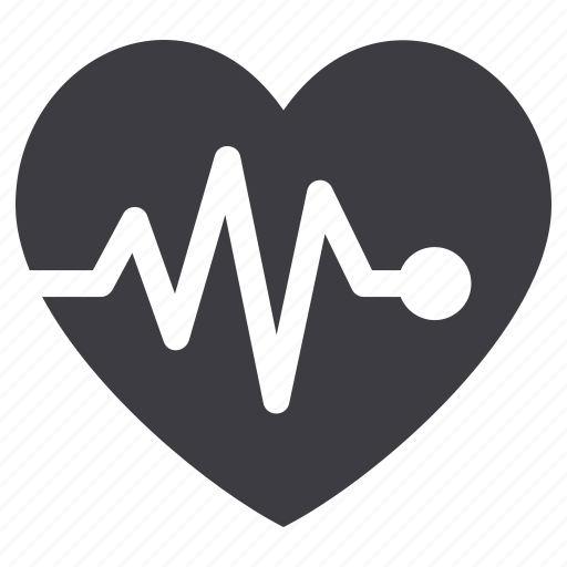 cardiogram, ekg, heart care, heart health, pulse icon