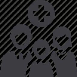 family insurance, family medicine, health insurance icon