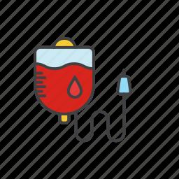 bag, blood, blood icon, medicine icon icon