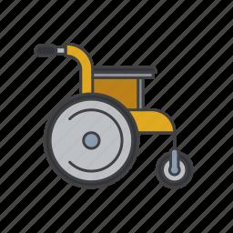 disabled, health, healthcare, hospital, medical, medicine icon icon