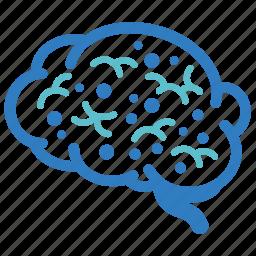 alzheimer, brain, mad cow disease, neuroscience, psychiatry, psychology, sick icon