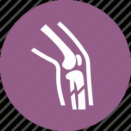 broken bone, injury, leg, orthopedics icon