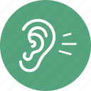 ear, hearing, otology icon