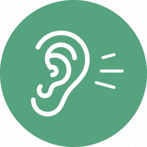 Ear, hearing, otology icon - Download on Iconfinder