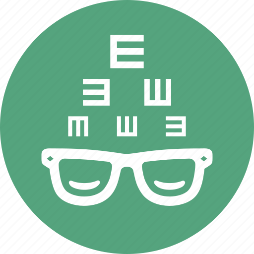 Eye consultation, glasses, optometry icon - Download on Iconfinder