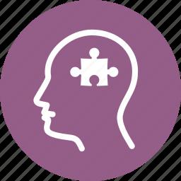 mental health, psychiatry, psychology icon