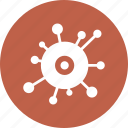 bacteria, immunity, infection, virus icon